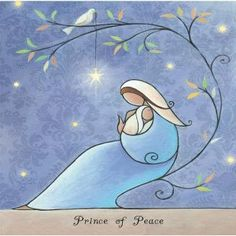 Pin on Navidad Religious Christmas Cards, Diy Christmas Cards, Christmas Nativity, Christmas Crafts, Watercolor Christmas Cards, Watercolor Cards, Catholic Art, Religious Art, Mary And Jesus