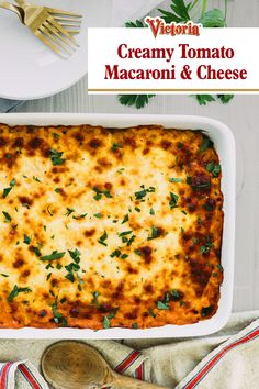 Mac and cheese might be missing something: sauce. Put a fresh spin on your recipe with fresh rosemary, oregano, and shallots. Then pour on your marinara for a dish that delights. Casserole Dishes, Casserole Recipes, Side Dish Recipes, Dinner Recipes, Great Recipes, Favorite Recipes, Macaroni Cheese Recipes, Vegetarian Recipes, Cooking Recipes