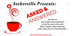 Seekerville: Asked and Answered Part 1: Conflict and Character Arc by Missy Tippens