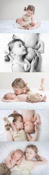 Newborn Studio Portraits - Newborn with sibling photos Newborn Sibling, Foto Newborn, Newborn Poses, Newborn Shoot, Baby Boy Newborn, Newborns, Maternity Poses, Carters Baby, Sibling Photos