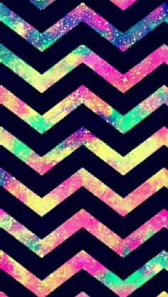 Colorful Chevron galaxy iPhone/Android wallpaper I created for the app CocoPPa! Chevron Phone Wallpapers, Chevron Wallpaper, Galaxy Wallpaper, Phone Backgrounds, Cute Wallpapers, Wallpaper Backgrounds, Iphone Wallpapers, Cocoppa Wallpaper, Cellphone Wallpaper