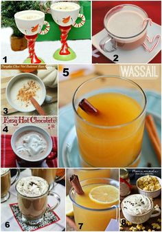 8 Hot Drinks to satisfy any sweet tooth in a chilly weather.
