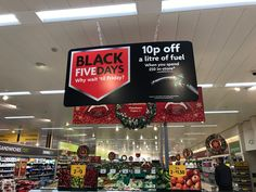 """Like this trade up incentive in Morrisons.  Same promotion as that run in 2015.  Like the """"Black Five-days"""" almost sounds health conscious!"""