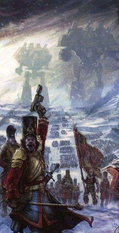 Vostroyan Imperial guard war machine