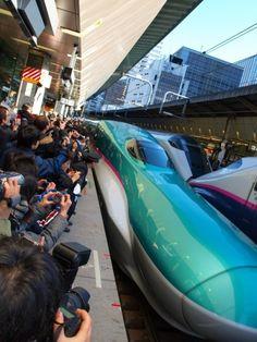 La serie E5 de shinkansen