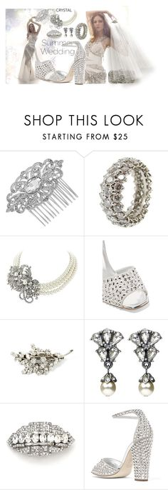 """Summer Wedding"" by marionmeyer ❤ liked on Polyvore featuring Charlotte Olympia, Jon Richard, Giuseppe Zanotti and summerwedding"
