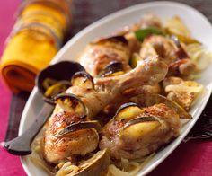 #Poulet au #citron #vert, une recette signée Cyril Lignac Gluten Free Cooking, Cooking Recipes, Healthy Recipes, Chefs, Chicken Runs, Best Chef, My Best Recipe, Bon Appetit, Coco