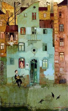 2009 Otar Imerlishvili (Georgian, 1970) ~'Serenade'