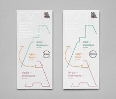 Leaflets for the National Museum of Modern and Contemporary Art, Seoul Leaflet 2018 Exhibition Guide Design: Solah Koh, Year: 2018 Visitors. Editorial Design Layouts, Leaflet Layout, Leaflet Design, Book Design Layout, Print Layout, Typographic Design, Graphic Design Typography, Seoul, Edition Jeunesse