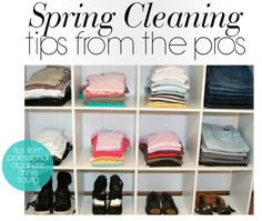 Spring Cleaning Tips // Live Simply by Annie