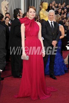 #Oscar #Oscars Emma Stone chic.