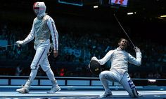 Richard Kruse and Andrea Baldini  - London 2012 Olympics: Italy outclass battling Britain for narrow fencing victory