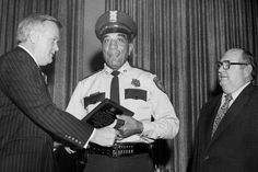 When Edward Thomas joined the Houston police department as a patrolman in 1948, he wasn't allowed to enter through the building's front door and would use a service entrance in the back.