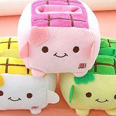 USD $ 1.99 - Kawaii Hannari Tofu Cell Plush Phone Holder Christmas Gift (CEG1058), Free Shipping On All Gadgets!