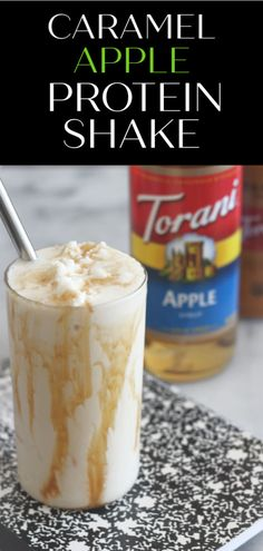 Protein shake recipes 77827899797588731 - Instead of giving the teacher an apple this year, give them some Torani Apple Syrup so they can make this delicious Caramel Apple Protein Shake! Source by SparkleLiving Protein Smoothie Recipes, Protein Powder Recipes, Vanilla Protein Powder, Protein Foods, Fruit Smoothies, Best Protein Shakes, Caramel Apples, Apple Caramel, Meal Replacement Shakes
