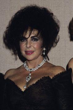 Elizabeth Taylor circa 1990s