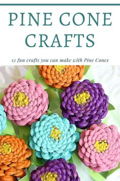 Pine Cone Crafts ⋆ Homemade for Elle