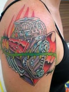 1000 ideas about chevy tattoo on pinterest car tattoos jeep tattoo and mustang tattoo. Black Bedroom Furniture Sets. Home Design Ideas