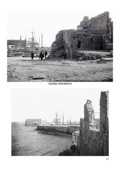 EHD Crète 1897-1904-p41 Old Photos, Vintage Photos, Old Maps, Amelia, The Past, Black And White, Places, Image, Old Pictures