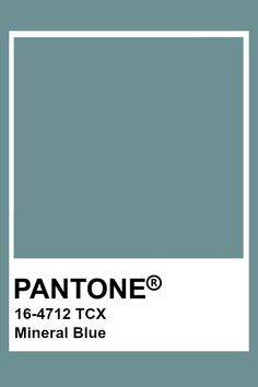 This is a blue with a warmer tone. Paleta Pantone, Pantone Tcx, Pantone Swatches, Color Swatches, Colour Pallete, Colour Schemes, Color Trends, Pantone Colour Palettes, Pantone Color