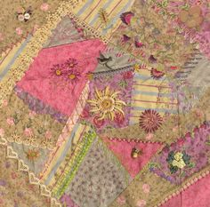 Crazy quilt block idea...