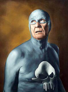andreas englund aging superhero - Google Search
