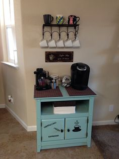 Coffee station!