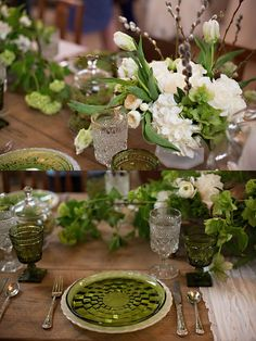 Virtu floral design and Southern Vintage table ware VINEWOOD WEDDINGS AND EVENTS OPEN HOUSE | Evie Perez Photography