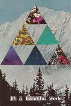 Artwork We Love: Collage By Sarah Eisenlohr   Free People Blog #freepeople