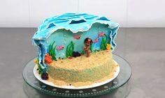 Moana Disney Cake