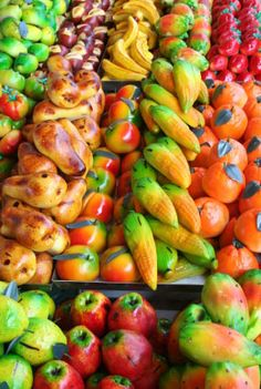 Marzipan Fruits | Use our favorite marzipan recipe to learn how to make marzipan candies ...