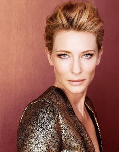 Cate Blanchett....one of those women who doesn't show any aging. Amazing actress.