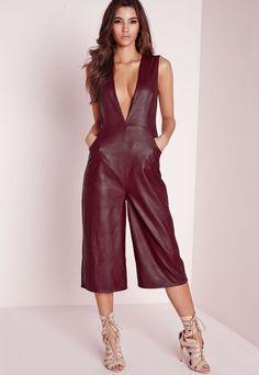 340fa469739 Women jumpsuit rompers genuine lambskin real leather jumpsuit catsuit oc-40