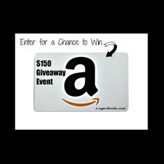 ENDS TOMORROW!! APRIL 2016 AMAZON Giveaway