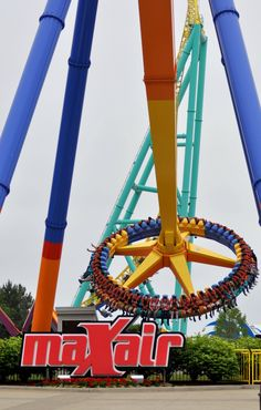 maXair (Cedar Point) this thing is SOOO fun im riding it again when i go next week