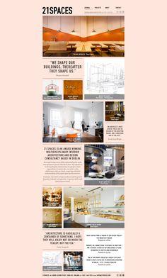 Portfolio Website for inspiration #portfolio #webdesign #inspiration