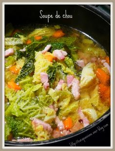 Cabbage Soup – °°° The cuisine of Cocopassions °°° Cooking Tips, Cooking Recipes, Keto Recipes, Healthy Recipes, Crockpot Recipes, Soup Recipes, Fruit Plus, Ratatouille Recipe, Vegetable Soup Healthy