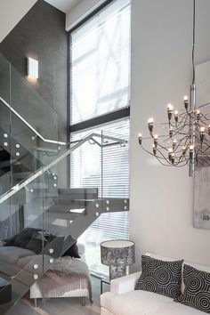 Aitoa luonnonkiveä Tunto Kivi -pinnoitteella efektiseinässä Urban Villa 1 -kohteessa. #asuntomessut #asuntomessut2015 #tikkurila #olohuone #tuntokivi