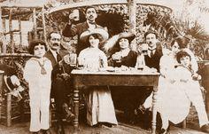 OĞUZ TOPOĞLU : bomonti bira bahçesi 1934 - eski istanbul fotoğraf...