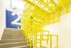 MAT office creates flexible coworking space in beijing