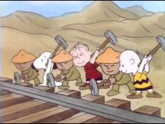 HISTORY charlie brown teaches about the building of the transcontinental railroad