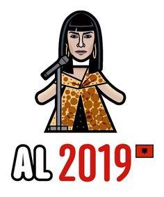 Jonida Maliqi - Albania 2019 @jonidamaliqi #eurovision #eurovision2019 #albania #albania🇦🇱 #europops Albania, Blueberry, French Toast, Aurora Sleeping Beauty, Darth Vader, Fan, Songs, Disney Characters, Party