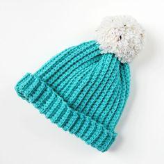 Easy Diy Giant Pom Pom Crochet Hat