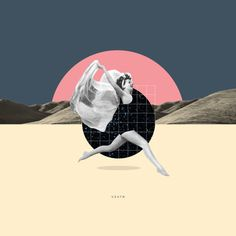 visualgraphc: cooollage: C'est la vie. Art Du Collage, Surreal Collage, Collage Illustration, Collage Design, Collages, Surreal Art, Photomontage, Grafik Design, Graphic Design Inspiration
