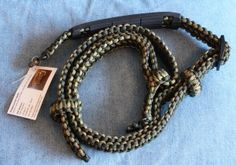 The three Point Sling has about 150 feet of paracord in it. It can be unraveled during an emergency if you need cordage.