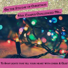 On the 5th day of Christmas Her Campus challenged me...