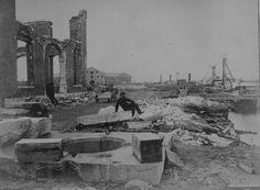 Ruins of the navy yard at Norfolk, Va., December 1864…