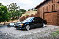 Mercedes-Benz W124 500E on OZ AMG Aero | BENZTUNING | Performance and Style