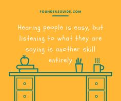 emphatic listening is a skill not everybody has