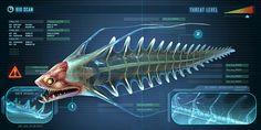 RIver Prwoler Subnautica Creatures, Deep Sea Creatures, Curious Creatures, Fantasy Creatures, Subnautica Concept Art, Creature Concept Art, Dungeons And Dragons 5, Alien Aesthetic, Planet Design